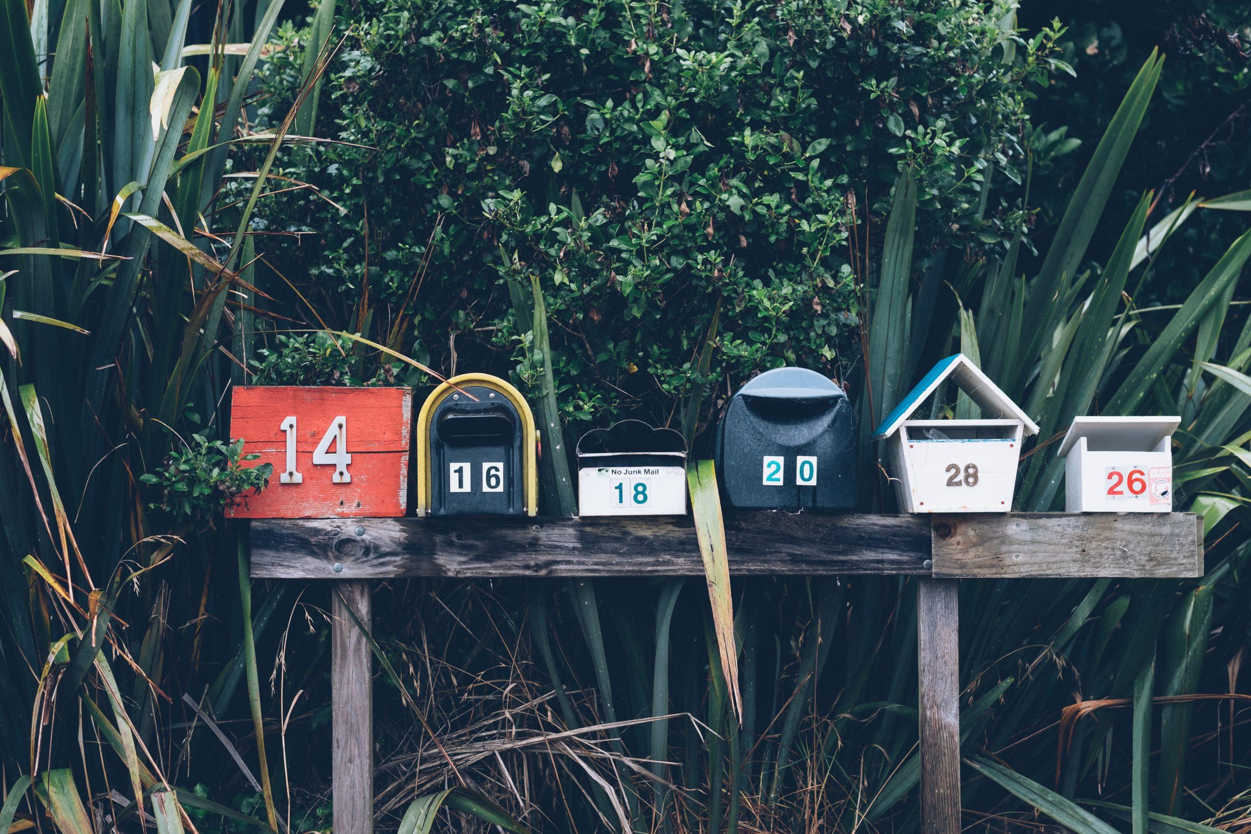 mailbox, newsletter